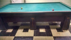 10' Brunswick-Balke-Collender Regina carom billiard table for sale.