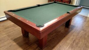 Used Brunswick Hawthorn pool table for sale