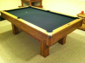 Used Brunswick Highlander pool table for sale