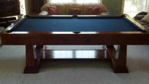 Used Brunswick Artisan pool table for sale