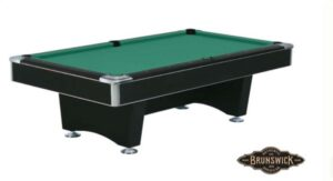 Used Brunswick Centurion eight foot pool table for sale.