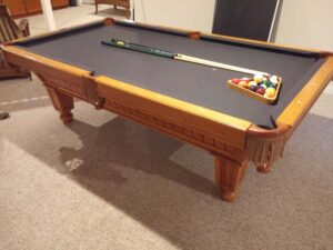 Used Brunswick Cottage Grove 8 foot pool table for sale