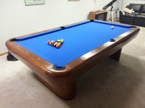 Used vintage Brunswick Gibson pool table