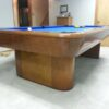Base view of a Gibson pool table