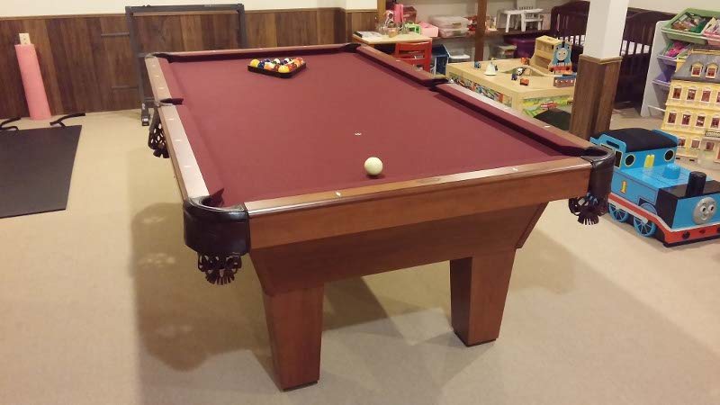 Olhausen Drake - Pool table resurfacing