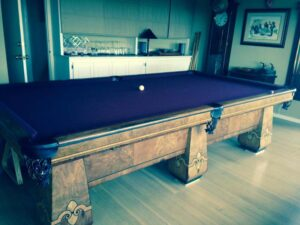 Brunswick Balke Collender Paragon pool table.