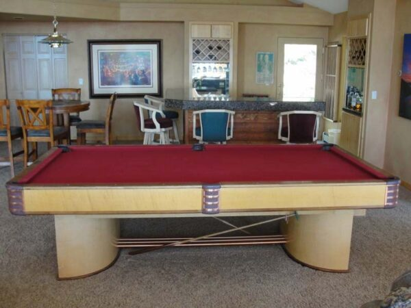 Brunswick Paramount pool table for sale