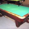 Brunswick Medalist commercial pool table.