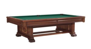 The Windsor pool table from Brunswick Billiards. One of our favorites!