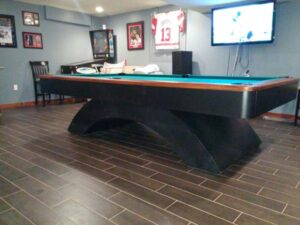 Olhausen Waterfall pool table 9 foot beauty!