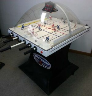 super chexx bubble hockey arcade game for sale used