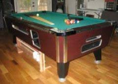 Valley 7' used pool table for sale