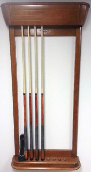 Brunswick Gibson wall mounted cue rack for sale