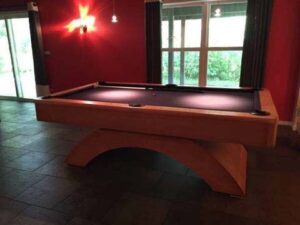 Olhausen Waterfall pool table for sale.