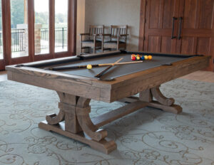 The Carmel pool table from Presidential Billiards