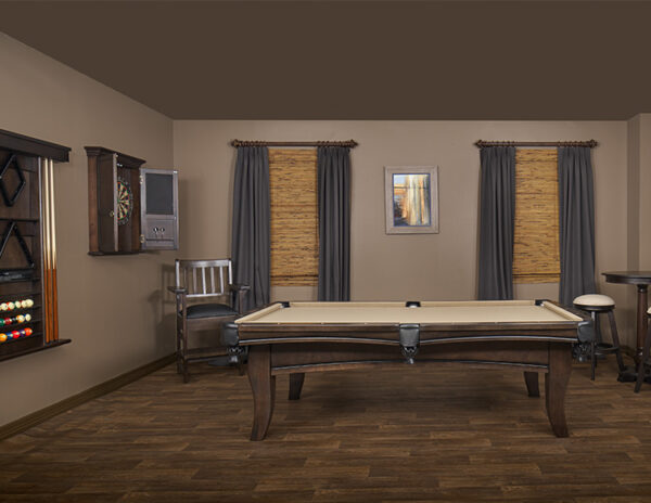 The Carter pool table from Presidential Billiards