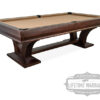 angle view of the Hamilton pool table