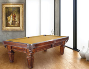 The Hartford pool table from Presidential Billiards