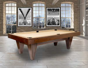 The Haven pool table from Presidential Billiards