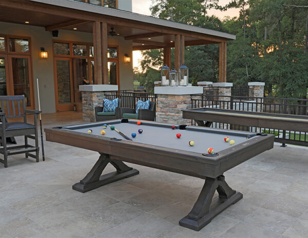 The Kariba pool table from Presidential Billiards