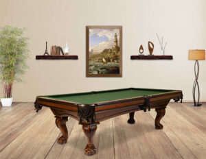 The Monroe pool table from Presidential Billiards