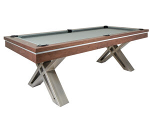 The Pierce pool table from Presidential Billiards
