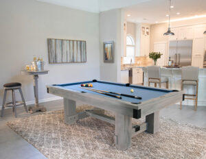 The Silverton pool table from Presidential Billiards